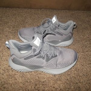 Mens Adidas Alpha 3 Bounce Gray 8